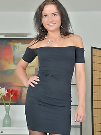Lusty mom Niki Sweet is a total knockout in her evening..