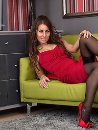 All natural milf Jess West is a British hottie whose tight..