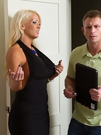 Alura Jenson & Bill Bailey in Seduced by a cougar