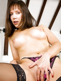 Tight bodied Cindy shows off a perfect and petite mature..