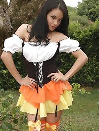 Savanna makes Halloween very naughty!
