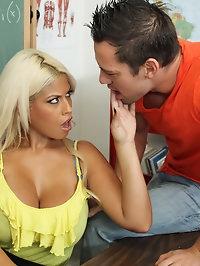 Bridgette B. & Johnny Castle in My First Sex Teacher